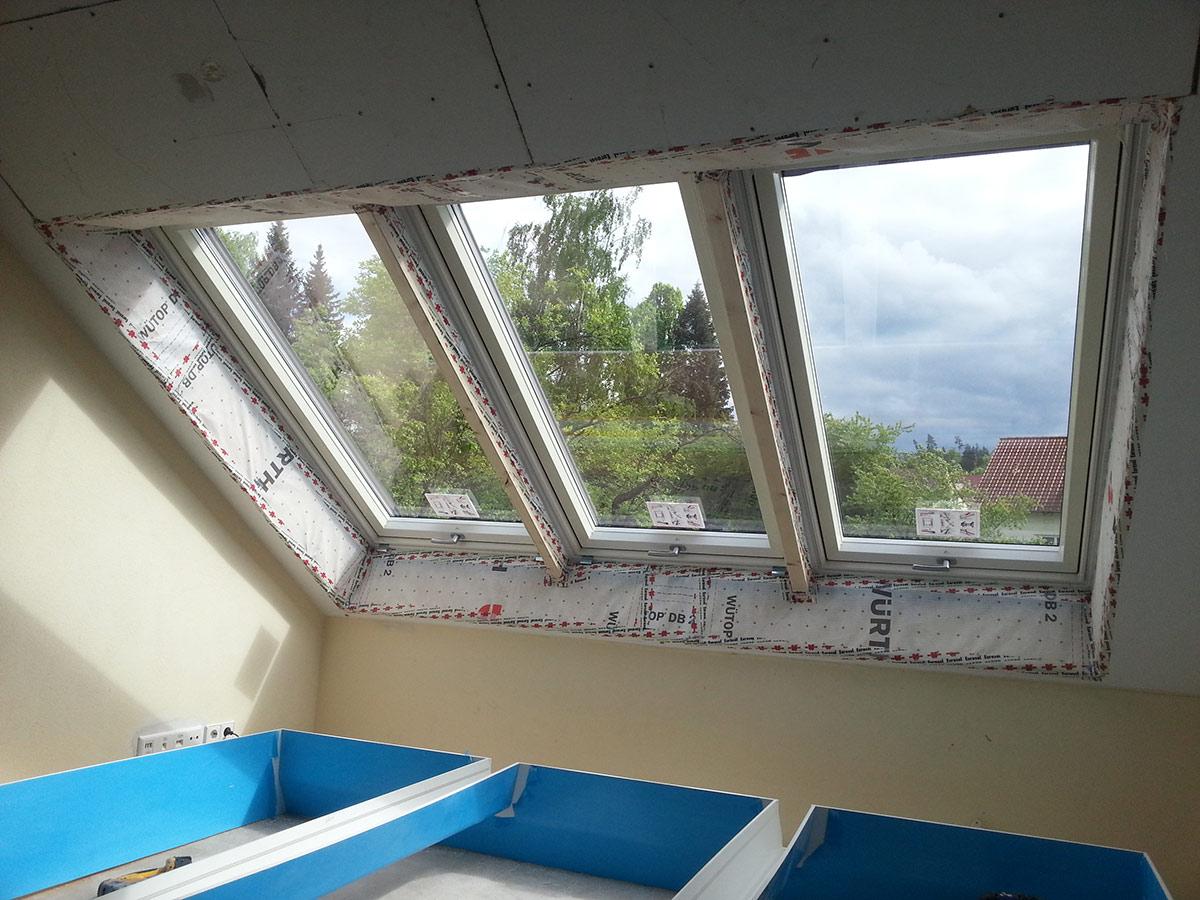 Sven Kohn Holzbau GmbH - Gaildorf - Holzbau - Zimmererarbeiten - Wohndachfenster