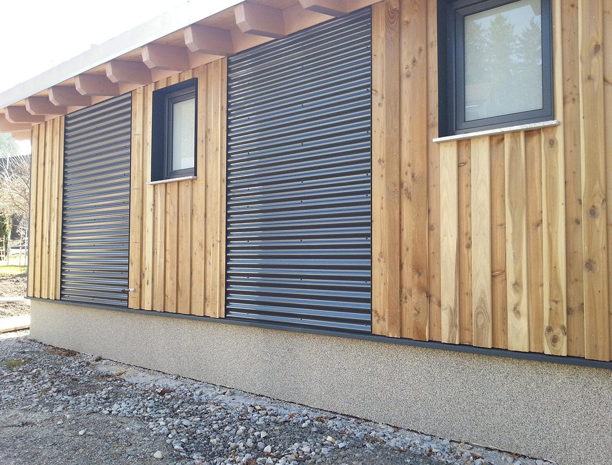 Sven Kohn Holzbau GmbH - Gaildorf - Holzbau - Zimmererarbeiten - Fassadenverkleidung